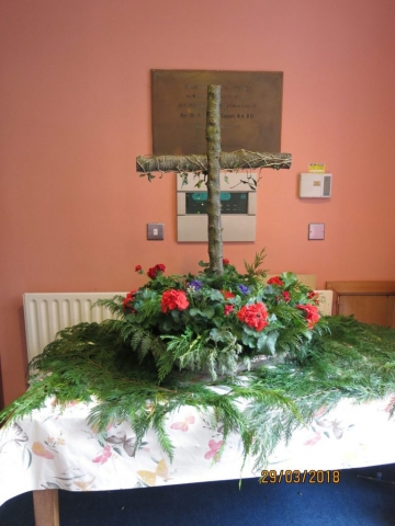 Easter Floral Display
